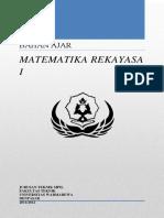 Bahan Ajar Matematika Rekayasa