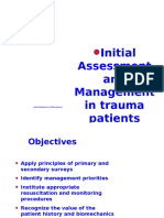 1.Initial Assessment in Trauma Patient