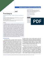 DM & Preeclamsia