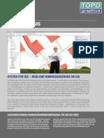 TG Systra for GIS Homogenisierung von Katasterkarten mit den Inhalten Leitungen und Katasterobjekte