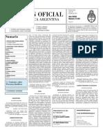 Boletin Oficial 26-07-10 - Segunda Seccion