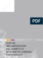 Guia de Implementacion Del Curriculo Integrador