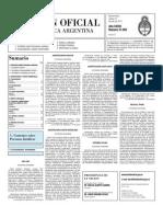 Boletin Oficial 27-07-10 - Segunda Seccion