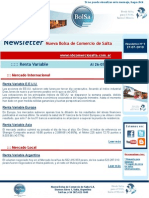 Newsletter Nº9 27-07-2010