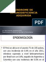 Síndrome de Inmunodeficiencia Adquirida