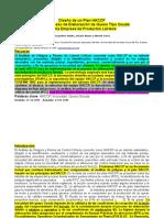 Diseño de Un Plan HACCP Para El Proceso de Elaboración de Queso Tipo Gouda en Una Empresa de Productos Lácteo1