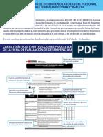 Instrucciones Para Llenar Las Fichas de Evaluación CAS 2017