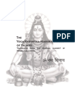 The Yoga Vasishtha Maharamayana of Valmiki
