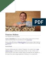 Francisco Mañosa