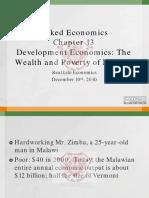 Naked Economics Chapter 13 Development Economics