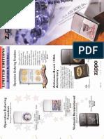 2002 Zippo Special Editions Catalog