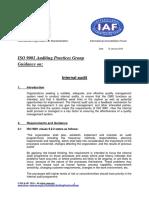 APG InternalAudit2015