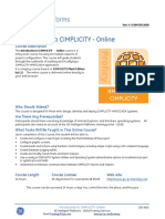 CBS-800 Introduction to CIMPLICITY Online