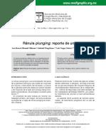 Ránula plunging . reporte de un caso.pdf