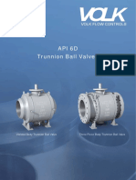 VOLK Valves API 6D Catalog