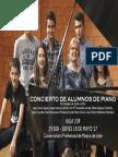 CONCIERTO DE PIANO - ALUMNOS DE ELENA GONZÁLEZ