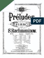 Preludes (Rachmaninoff)