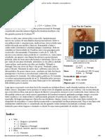 Luís de Camões – Wikipédia, A Enciclopédia Livre