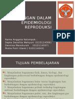 PPT Lingkungan Dalam Epidemiologi Reproduksi
