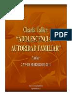 70 Adolescencia y Autoridad Familiar