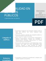 Accesibilidad Edificios públicos