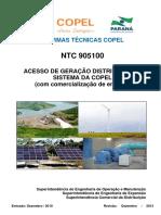 NTC 905100 ACESSO DE GERAÇÃO DISTRIBUIDA COPEL.pdf