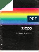 1991 Zippo Full Line Catalog