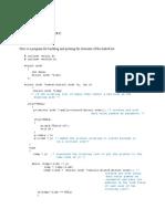Link List Program in c
