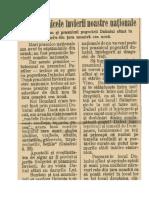 "Din Foaia ""Lumina Satelor"", Anul VIII, Nr. 21, Sibiu, 19 Mai, 1929"