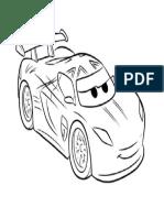 dibujo de car para colorear.docx