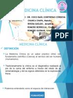 Medicina Clínica Concepto e Historia