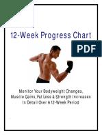 12 Week Progress Tracker