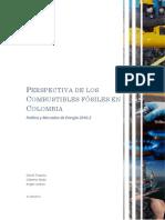 Perspectivas de los Combustibles Colombianos