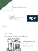 CFD Advance Physical Models