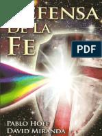 APOLOGÉT Defensa de La Fe Hoff Y Miranda