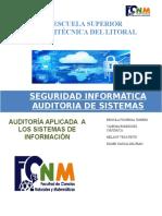 Resumen de Auditoría de Sistemas