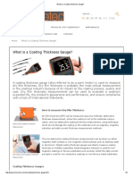 What is a Coating Thickness Gauge