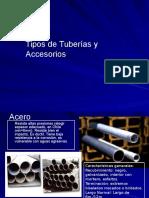 007 1 Tipos de Tuberías y Piezas Especiales