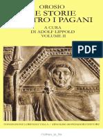 Orosio - Le Storie Contro i Pagani Vol. 2 (Fondazione Valla)