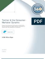 360i Twitter Study
