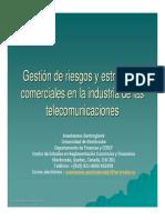 Gestion de Riesgo Telecomunicaciones