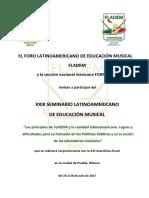 1ra Convocatoria - XXIII Seminario Latinoamericano de Educación Musical.pdf
