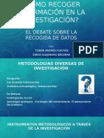 Cómo Recoger Información en La Investigación