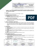 Ee-001-Pro-sos-005 Sostenimiento de Perno y Malla Con Equipo Grua