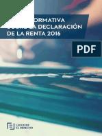 eBook Guia Informativa Sobre La Declaracion de La Renta 2016