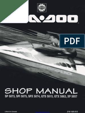 Seedoo bombardier Starter Relais//Contacteur 12 V