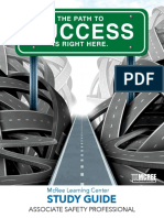 Associate Safety Professional (ASP) Exam Study Guide