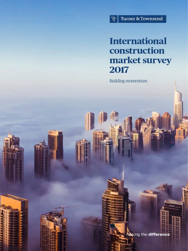 turner townsend survey 2017 economic growth international