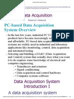 Data Acquisition System Design