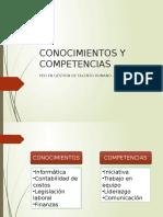 002_PEDGTH - Conocimientos y Competencias
